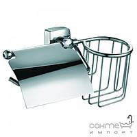 Аксессуары для ванной комнаты Trento Бумагодержатель + держатель освежителя воздуха Trento Moderno 32428