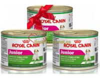 АКЦИЯ! 1+1=3! Royal Canin Junior - консервы для щенков в возрасте до 10 мес, набор из 3 шт.