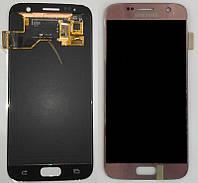 Дисплей + сенсор Samsung G930 GALAXY S7 ROSE GOLD Original 100% SERVICE PACK