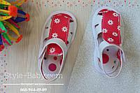 Пинетки-сандали на девочку, обувь для новорожденных р.17,18,19