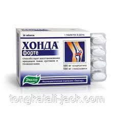 Хонда Глюкозамін №30 по 750 мг.