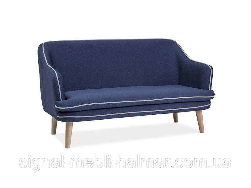 Кресло диван Paris 2 signal (гранатовый)