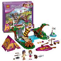 Конструктор Bela аналог Lego Friends Спортивный лагерь Сплав по реке, 325 детали