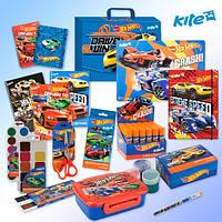 Набор первоклассника для мальчика Hot Wheels 28 предметов