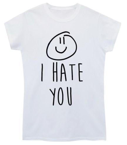 Крутая белая футболка с надписью