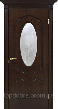 Полотно дверное шпонированое ТМ ОМИС ОЛИВИЯ СС+КР , фото 2