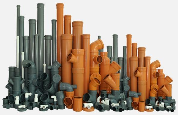 Фото канализационные трубы и фитинги