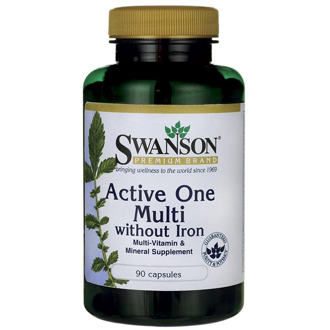 Мультивітаміни без заліза / Multivitamin without Iron, 90 капсул