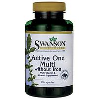 Мультивітаміни без заліза / Multivitamin without Iron, 90 капсул, фото 1