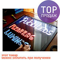 Флеш-панель с LED подсветкой для различной рекламы, размеры 40 х 60  / Светодиодная панель