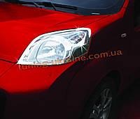 Накладки на фары Omsa на Peugeot Bipper 2008
