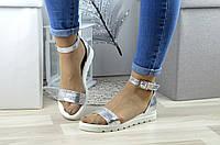 Женские сандалии натуральная кожа только 39й размер