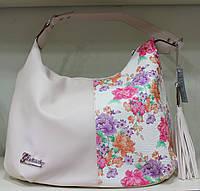 Сумка торба женская Цветы  Производитель Украина 17-1431-1