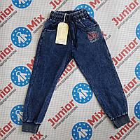 Котоновые детские спортивные штаны  на манжете для мальчика