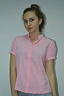 Блуза женская однотонная с зажимом BURRASCA