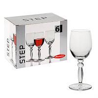 Набор бокалов для вина Pasabahce Step 210мл 6шт.
