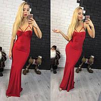 Женское красивое платье в пол АПХ 4
