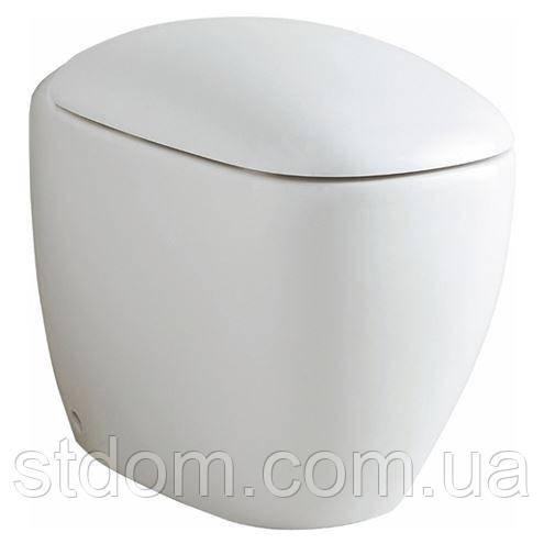 Унитаз напольный, 6л, горизонтальный выпуск Keramag Citterio 213520