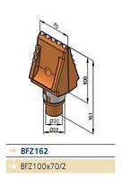 Зуб плоский BFZ162