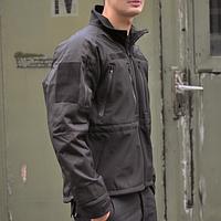 Куртка софтшелл Mil-tec PRO черная