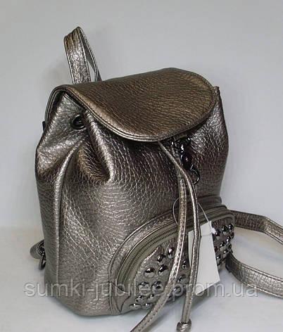 7984e20ff235 Стильный рюкзак с заклепками цвет бронзы: продажа, цена в Харькове ...