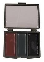 Грим для лица 3-colour с зеркалом MFH
