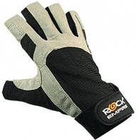 Перчатки для работы с веревкой Gloves Rock без пальцев Rock Empire