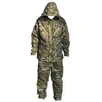 Зимний камуфляжный костюм Multicam (флис)
