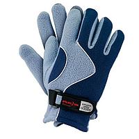 Перчатки спортивные зимние REIS сине-серые