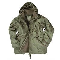 Куртка мембрана с подстежкой олива Mil-Tec