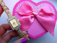Часы женские King Girl (браслет-колосок)