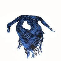 Шемаг - арафатка черная с синим