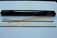 Накладки на пороги Omsa на Peugeot Partner 1996-2008 2004