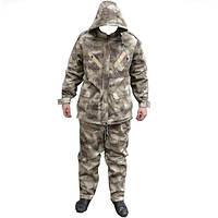Зимний камуфляжный костюм A-TACS AU (флис)