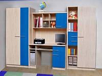 Стенка  Денди, для детской комнаты, производитель Мебель-Сервис