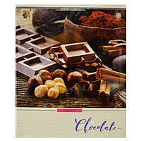 Тетрадь 48 листов клетка Chocolate