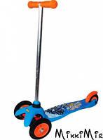 Скутер детский лицензионный - Hot Wheels (3-колёсный), Kiddieland, Голубой