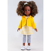 Кукла Paola Reina Нора в желтом, 32 см