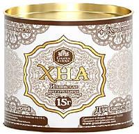 Хна коричневая для бровей и биотату 15г (+ кокосовое масло)