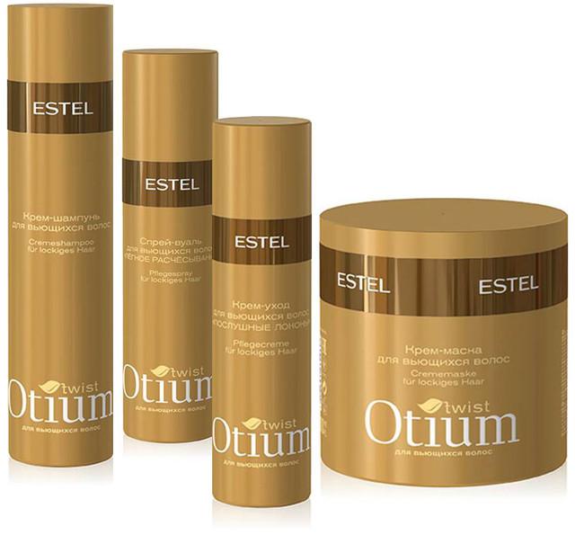 Otium twist - ухода за вьющимися волосами