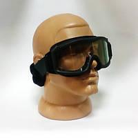Тактические очки черные 3 линзы
