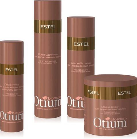 Otium Blossom - ухода за окрашенными волосами