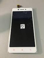 Lenovo S60 дисплей с сенсором белый