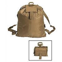 Вещевой мешок сборный ROLL-UP coyote Mil-Tec