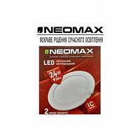 LED Светильник встраиваемый Neomax (круг) 24W 4500K