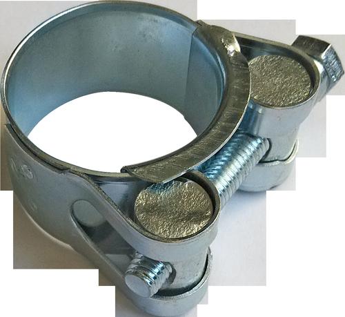 Хомут усиленный с шарнирным винтом 42Х46 мм, фото 2