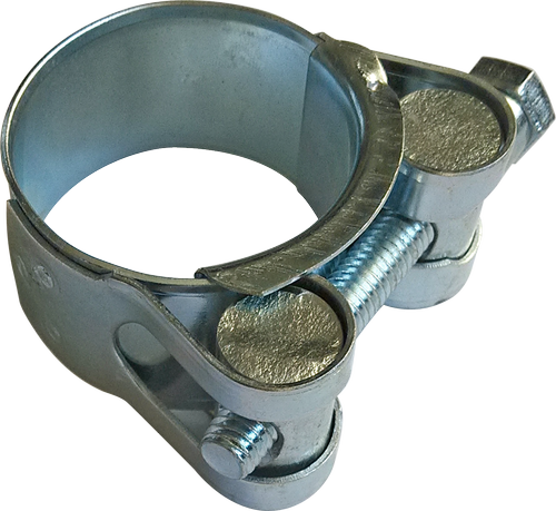 Хомут посилений з шарнірним гвинтом 104х112 мм (10 шт/уп), фото 2