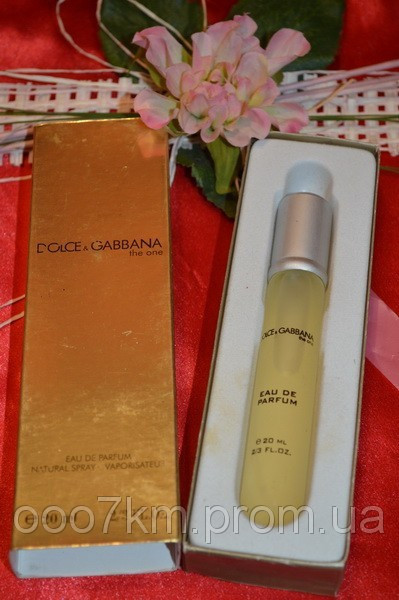 Dolce & Gabbana THE ONE 20 ML