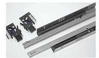 Механизмы выдвижения // Linken System / скрытого монтажа / с доводчиком (soft close) / не полный / L = 500 мм / H =40 мм / нагрузка 25 кг / сталь