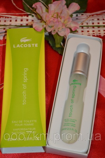 LACOSTE TOUCH OF SPRING  20 ML
